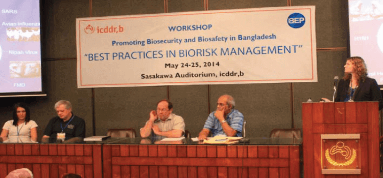Workshop on BEST PRACTICES IN BIORISK MANAGEMENT