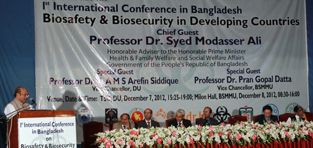 1st International Conference in Bangladesh on  Biosafety & Biosecurity